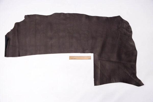 Стрейч кожа теленка, коричневая, 37 дм2. -109590