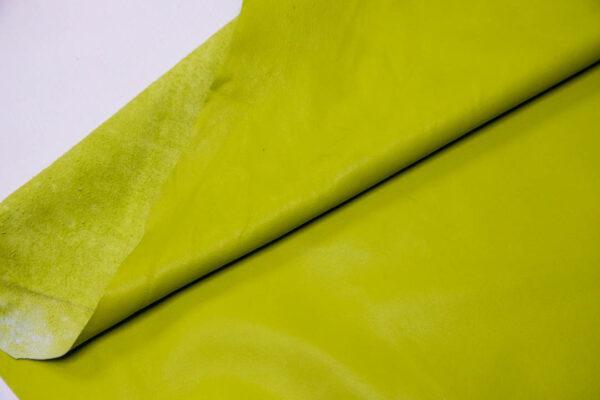 Кожа одёжная МРС, салатовая, 9,5 фут. (88 дм2)-200111