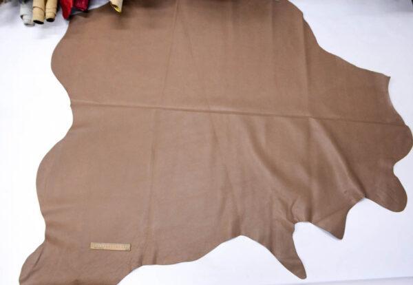 Кожа КРС, какао, 212 дм2.-PT1-74