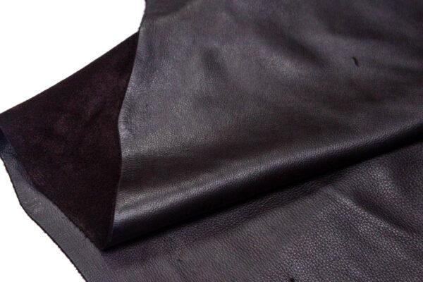 Кожа КРС, темно-коричневая лицевая, 243 дм2.-D1-138