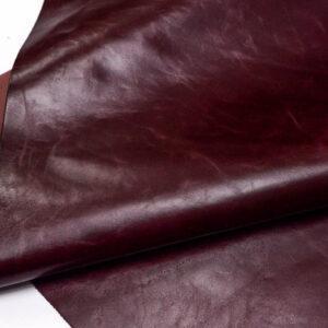 Кожа КРС, бордовая, 154 дм2.-PT1-100