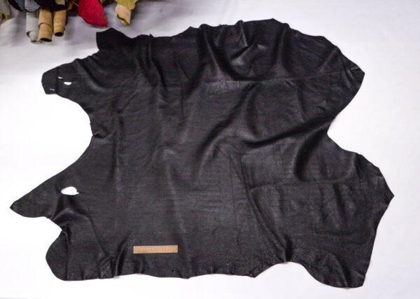 Кожподклад свиной, черный, 131 дм2.-PT1-101