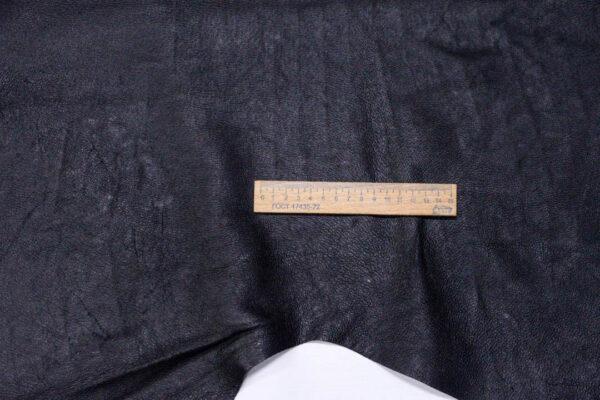 Кожподклад свиной лицевой, черный, 129 дм2.-PT1-102