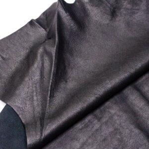 Кожподклад свиной, черный, 129 дм2.-PT1-102