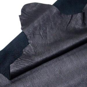Кожподклад свиной, черный, 118 дм2.-PT1-103