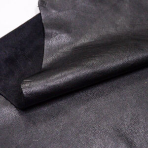 Кожа КРС лицевая, черная, 245 дм2.-D1-148