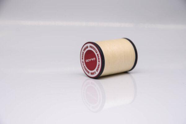 """Нить """"GALACES"""" вощеная плоская 0,8 мм. Кремовый-s001"""
