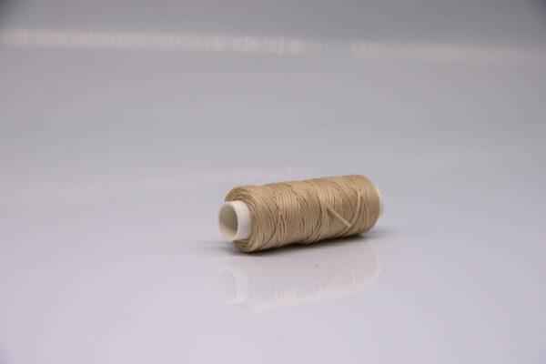 """Нить """"GALACES"""" вощеная плоская 0,8 мм. Светло-бежевая-s006m"""