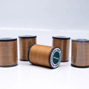 """Нить """"GALACES"""" вощеная круглая 0,65 мм. Светло коричневая-s018"""