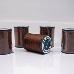 """Нить """"GALACES"""" вощеная круглая 0,65 мм. Темно-коричневая-s020"""