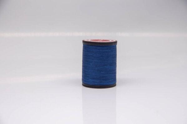 """Нить """"GALACES"""" вощеная плоская 0,8 мм. Синий - s038"""