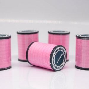 """Нить """"GALACES"""" вощеная круглая 0,45 мм. Розовая-s045"""