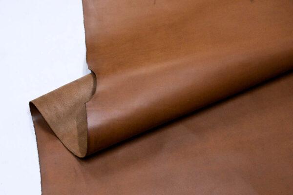 Кожа КРС крейзи хорс (Crazy Horse) с эффектом пул ап (Pull Up), светло-коричневый, 176 м2.- D1-151