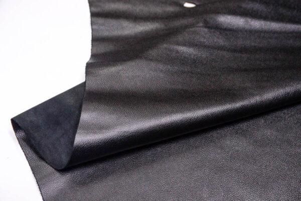 Кожа КРС, флотар, черный, 229 дм2.-D1-167