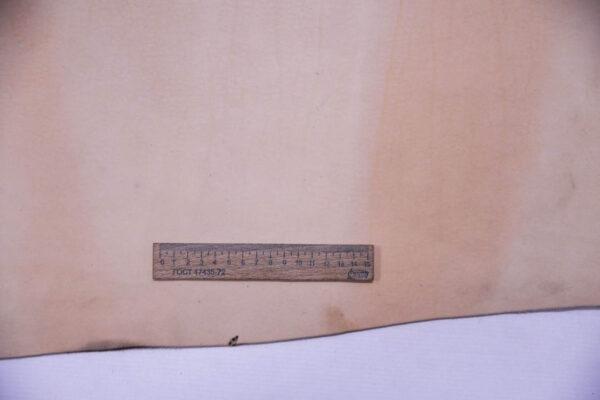 Кожа КРС растительного дубления (Vegetale), натуральный цвет, 132 дм2.-D1-169