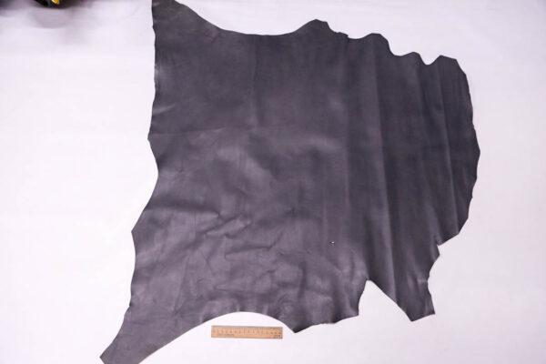 Кожа теленка, темно-серая, 68 дм2. -109594
