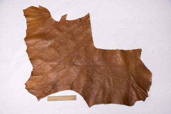 Кожа МРС, светло-коричневая, 27 дм2. -109596
