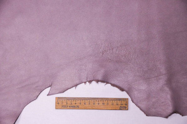 Кожа МРС (метис), серо-сиреневая, 55 дм2. -109626