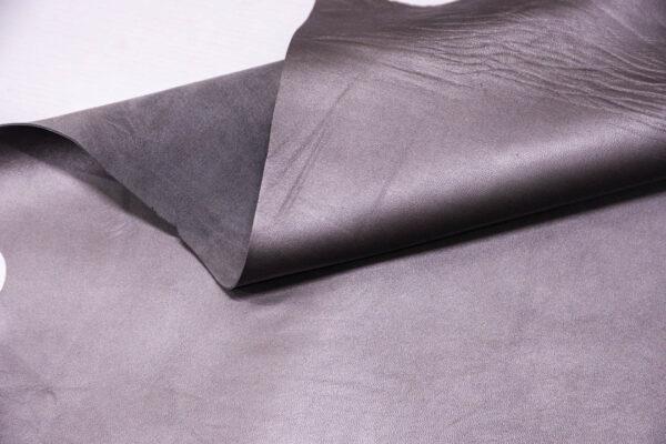 Кожа МРС, серый металлик, 41 дм2. -109636