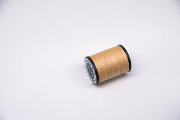 """Нить """"GALACES"""" вощеная круглая 0,55 мм. Кремовая-s005"""