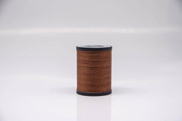"""Нить """"GALACES"""" вощеная круглая 0,55 мм. Коричневая-s019"""