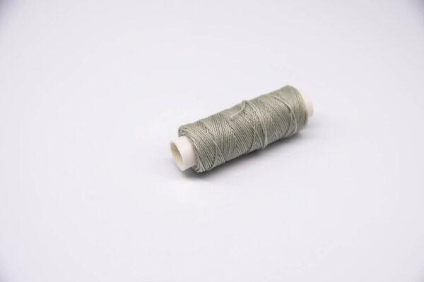 """Нить """"GALACES"""" вощеная круглая 0,55 мм. Светло-серая-s022"""