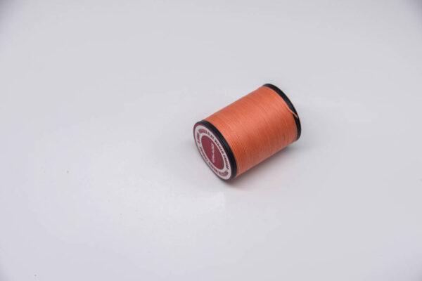 """Нить """"GALACES"""" вощеная плоская 0,8 мм. Лососевая-s017"""