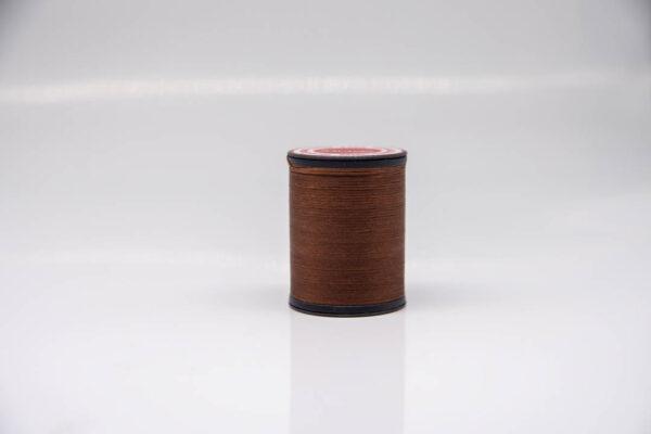 """Нить """"GALACES"""" вощеная плоская 0,8 мм. Коричневая-s019"""