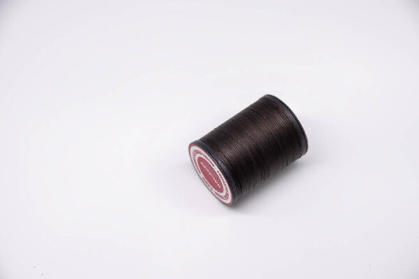 """Нить """"GALACES"""" вощеная плоская 0,8 мм. Темно-коричневая-s021"""