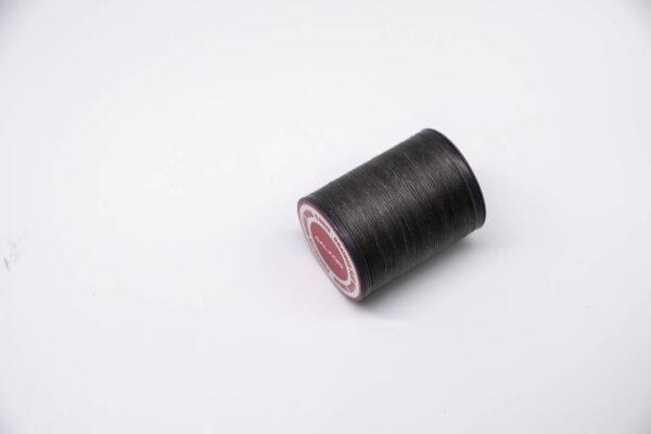 """Нить """"GALACES"""" вощеная плоская 0,8 мм. Темно-серый хаки-s027"""