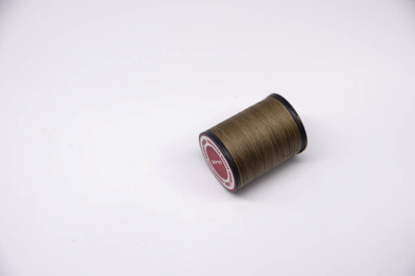 """Нить """"GALACES"""" вощеная плоская 0,8 мм. Светлый хаки-s028"""