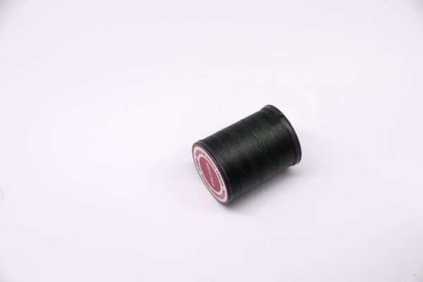 """Нить """"GALACES"""" вощеная плоская 0,8 мм. Темно-зеленая-s030"""