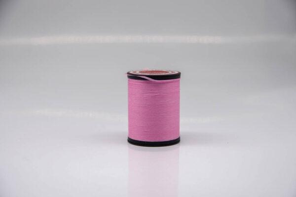 """Нить """"GALACES"""" вощеная плоская 0,8 мм. Розовая-s045"""