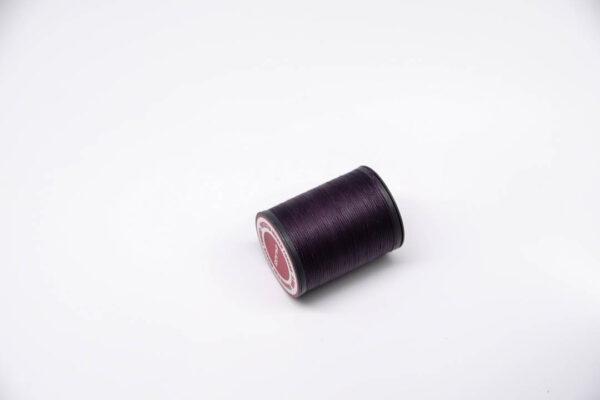 """Нить """"GALACES"""" вощеная плоская 0,8 мм. Темно-фиолетовая-s047"""