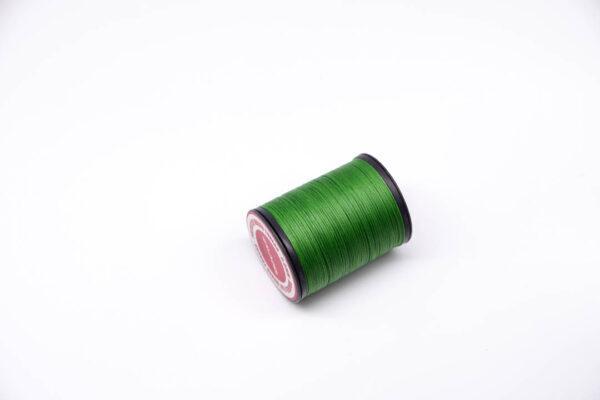 """Нить """"GALACES"""" вощеная плоская 0,8 мм. Зеленая-s066"""