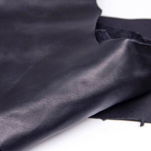 Кожа КРС, черная, 14 дм2.-1-379