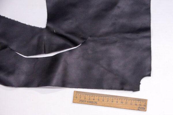 Кожа КРС, черная, 11 дм2.-1-384