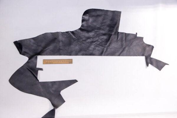 Кожа КРС, черная, 16 дм2.-1-386