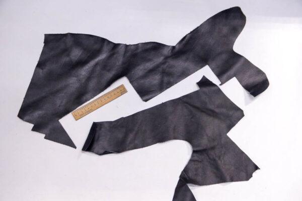 Кожа КРС, черная, 15 дм2.-1-387
