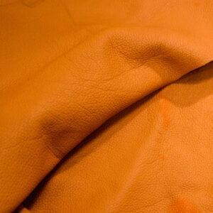 Кожа КРС, флотар, оранжевая, 25 дм2.-1-399