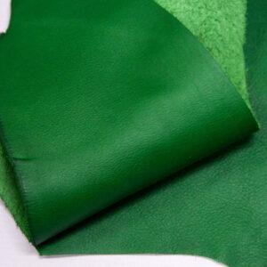 Кожа КРС, зеленая, 10 дм2.-1-407
