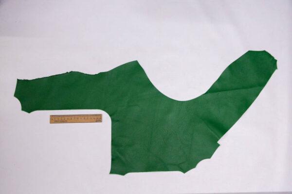 Кожа КРС, зеленая, 14 дм2.-1-408