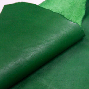 Кожа КРС, зеленая, 16 дм2.-1-409