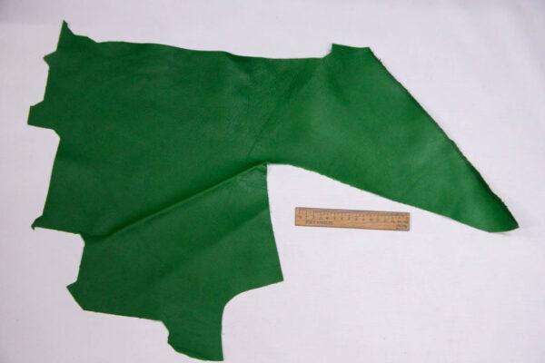 Кожа КРС, зеленая, 15 дм2.-1-410