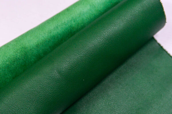 Кожа КРС, зеленая, 11 дм2.-1-411