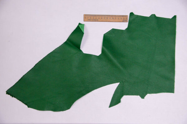 Кожа КРС, зеленая, 12 дм2.-1-412