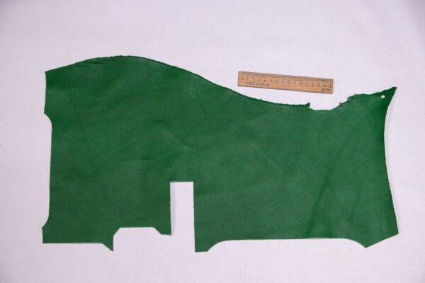 Кожа КРС, зеленая, 15 дм2.-1-413