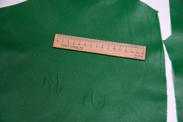 Кожа КРС, зеленая, 20 дм2.-1-414