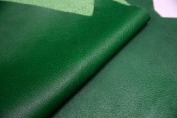 Кожа КРС, зеленая, 17 дм2.-1-415