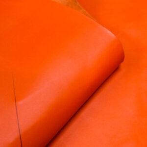 Кожа КРС, морковная, 15 дм2.-1-421